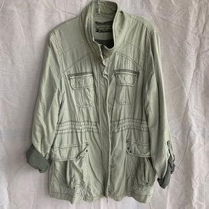 Marrekech Soft Green Utility Jacket
